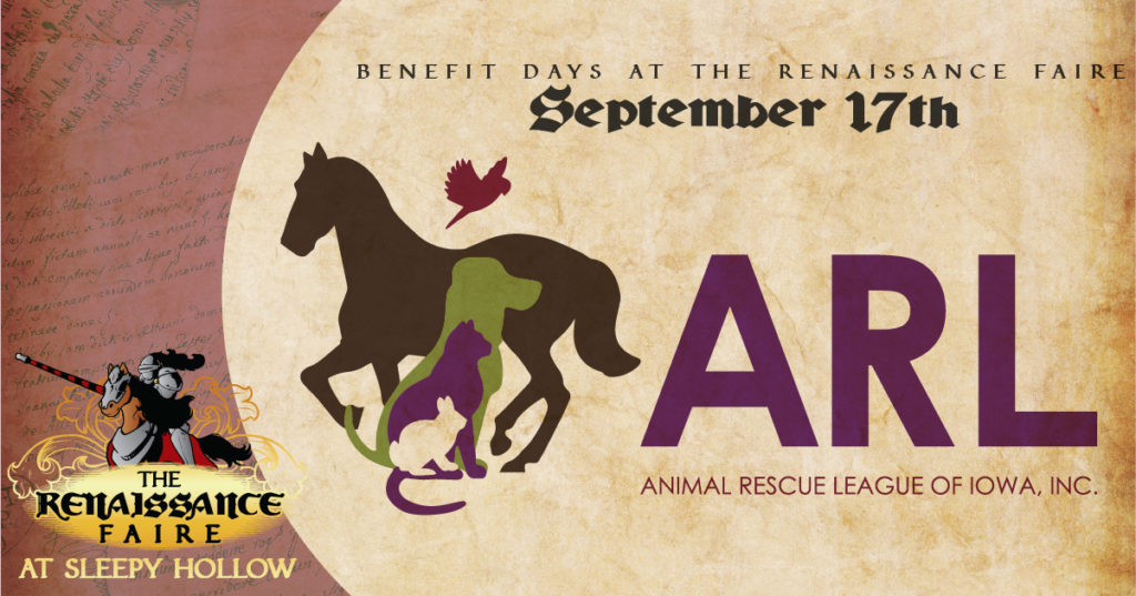 Animal Rescue League Benefit Day at the Renaissance Faire.