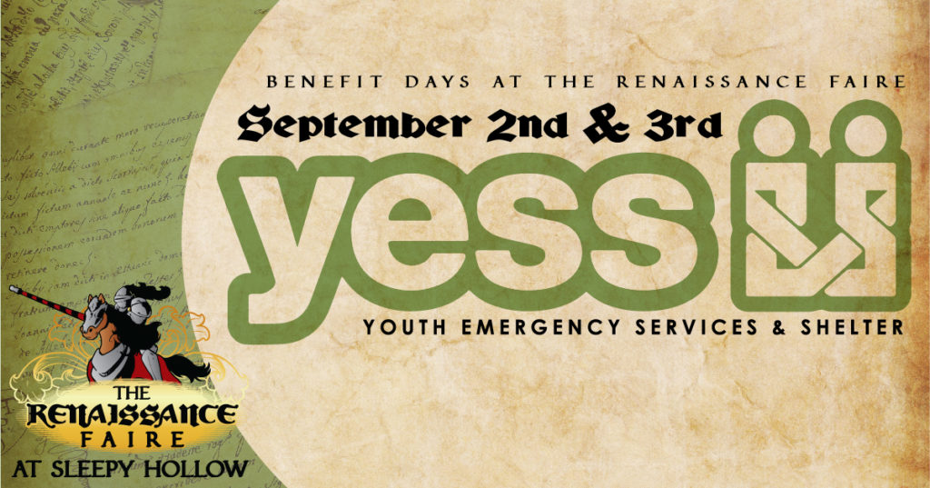 Youth Emergency Services & Shelter Benefit Day at the Renaissance Faire.